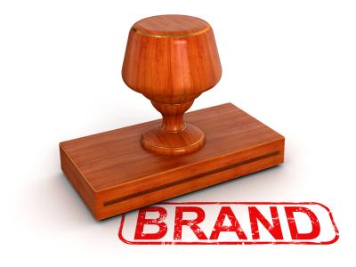 brand logo stamp
