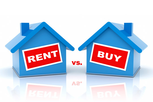 rent vs buy - Buying beats renting, but not by much in these places